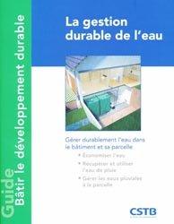Dernières parutions dans Guide pratique développement durable, La gestion de l'eau