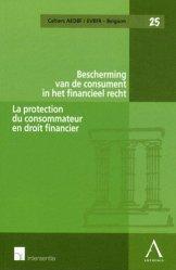 Dernières parutions dans Cahiers AEDBF/EVBFR-Belgium, La protection du consommateur en droit financier