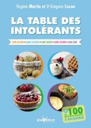 Dernières parutions sur Allergies, La table des intolérants