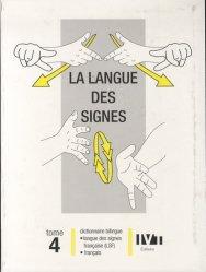 Dernières parutions sur Langue des signes, La langue des signes Tome 4 livre médecine 2020, livres médicaux 2021, livres médicaux 2020, livre de médecine 2021