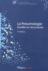 Dernières parutions sur Pneumologie, La pneumologie fondée sur les preuves. 5e édition