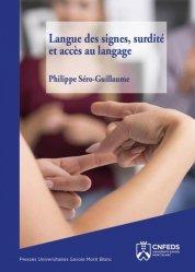Dernières parutions sur Orthophonie, Langue des signes, surdité et accès au langage