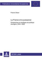 Dernières parutions sur Conflits et stratégie, La France et la puissance