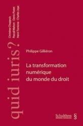 Dernières parutions sur Multimédia, La transformation numérique du monde du droit