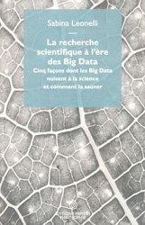 Dernières parutions sur Sciences et Technique, La recherche scientifique à l'ère des Big Data