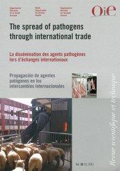 Dernières parutions dans Revue scientifique et technique, La dissémination des agents pathogènes lors d'échanges internationaux