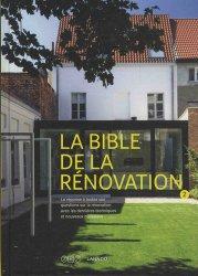 Dernières parutions sur Habitat traditionnel - Rénovation, La bible de la rénovation