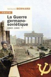Dernières parutions dans Texto, La guerre germano-soviétique tome 2