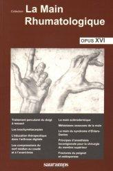 Souvent acheté avec Rééducation sensitive des douleurs neuropathiques, le La main rhumatologique Opus XVI