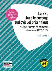 Dernières parutions sur Méthodes de langue (scolaire), La BBC et le paysage audiovisuel britannique