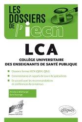 Souvent acheté avec ECNi - Conférences Paris-Descartes 2016-2017, le LCA