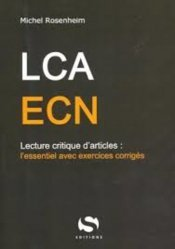 Souvent acheté avec Lecture critique d'articles médicaux, le LCA ECN, Lecture critique d'articles : l'essentiel