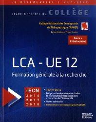 Dernières parutions dans Le référentiel Med-Line, LCA - UE 12