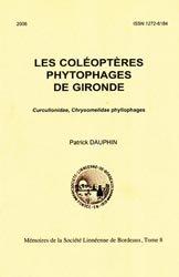Dernières parutions dans Mémoires de la Société Linnéenne de Bordeaux, Les Coléoptères phytophages de Gironde