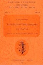 Dernières parutions sur Hémiptères, Les Hétéroptères Mirides de France Tome 1 Bis : les secteurs biogéographiques (suite)