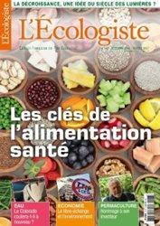 Dernières parutions dans L'Ecologiste, Les clés de l'alimentation santé