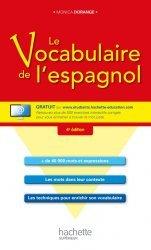 Dernières parutions sur Vocabulaire, Le vocabulaire de l'espagnol + CD
