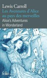 Dernières parutions dans Folio bilingue, Les aventures d'Alice au pays des merveilles