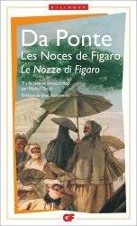 Dernières parutions dans GF bilingue, Le nozze di Figaro