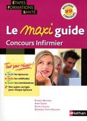 Souvent acheté avec IFSI Le Volum', le Le maxi guide Concours infirmier