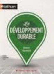 Nouvelle édition Le développement durable