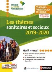 Nouvelle édition Les thèmes sanitaires et sociaux 2019-2020