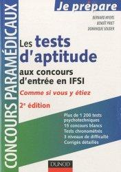 Souvent acheté avec Les tests d'aptitude au concours IFSI, le Les tests d'aptitude aux concours d'entrée en IFSI