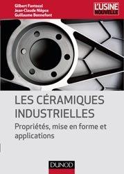 Dernières parutions sur Matériaux synthétiques et composites, Les céramiques industrielles