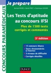 Souvent acheté avec Concours Infirmier Entrée en IFSI, le Les tests d'aptitude aux concours d'entrée en IFSI