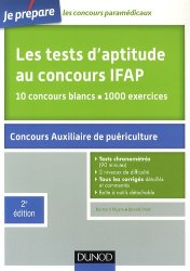 Souvent acheté avec Entraînement aux tests d'aptitude et de logique verbales, le Les tests d'aptitude au concours  IFAP
