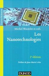 Dernières parutions sur Nanotechnologies, Les nanotechnologies