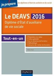 Souvent acheté avec Tout le DEAVS - MCAD en fiches mémos, le Le DEAVS 2016