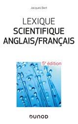 Dernières parutions sur Dictionnaires, Lexique scientifique anglais/français
