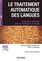 Dernières parutions sur Intelligence artificielle, Le traitement automatique des langues