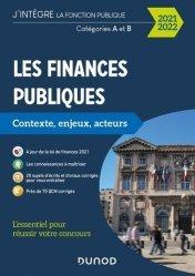 Dernières parutions sur Concours administratifs, Les finances publiques