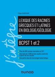 Dernières parutions sur Sciences de la Vie, Lexique des racines grecques et latines en biologie/géologie.