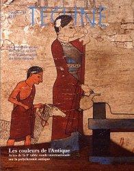 Dernières parutions sur Muséologie, Les couleurs de l'antique