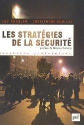 Dernières parutions dans Questions judiciaires, Les stratégies de la sécurité 2002-2007. Avec 150 propositions pour aller plus loin