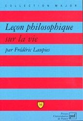 Dernières parutions dans Major, Leçon philosophique sur la vie