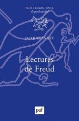 Dernières parutions dans Petite bibliothèque de psychanalyse, Lectures de Freud