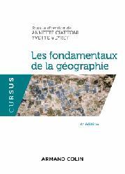 Dernières parutions dans Cursus, Les fondamentaux de la géographie