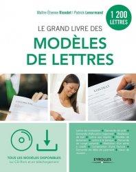 Dernières parutions sur Correspondance, Le grand livre des modèles de lettres. 2e édition. Avec 1 CD-ROM