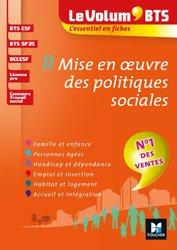 Dernières parutions dans Le Volum', Le Volum' BTS - Mise en oeuvre des politiques sociales