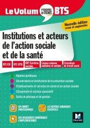 Dernières parutions dans Le Volum' BTS, Le Volum' BTS - Institutions et acteurs de l'action sociale et de la santé - Révision
