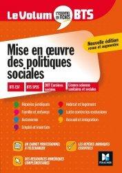Dernières parutions dans Le Volum' BTS, Le Volum' BTS - Mise en oeuvre des politiques sociales - Révision