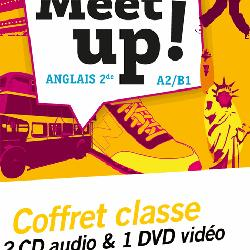 Dernières parutions dans Let's Meet up !, Let's Meet up ! - Anglais 2de Éd. 2018 - Coffret CD/DVD