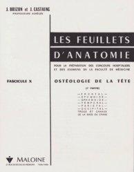 Souvent acheté avec Anatomie de l'appareil locomoteur Pack 3 volumes, le Les feuillets d'anatomie Fascicule 10