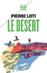 Dernières parutions dans Petite Bibliothèque Voyageurs, Le désert