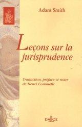 Dernières parutions dans bibliothèque dalloz, Leçons sur la jurisprudence