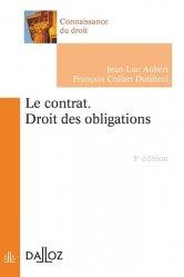 Dernières parutions dans Connaissance du droit, Le contrat. Droit des obligations, 5e édition